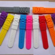 东莞上博橡胶厂家批发手表表带图片