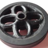 橡胶车轮回图片