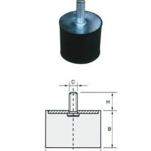 防滑防震橡胶配件图片