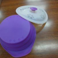 供应东莞上博橡胶折叠碗杯子杯盖隔热垫