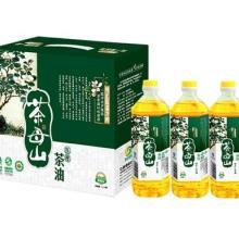 供应茶母山野生茶油1L×3