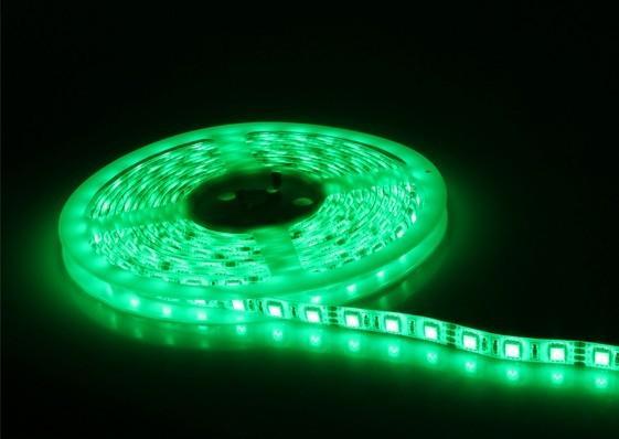 供应5050绿色装饰灯条