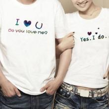 供应情侣t恤短袖
