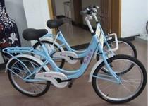 并排双人车 情侣车 双人自行车 景区观光车