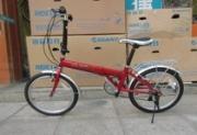 捷安特折叠变速自行车 折叠自行车 20寸折叠车
