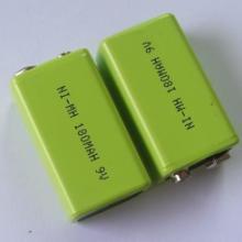 供应镍氢180mAh9V充电电池