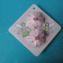 挂发饰的卡挂发饰的包装卡挂发饰的内衬包装卡印刷发饰发夹专用卡纸批发