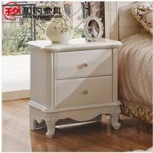 供应和购法式家具田园收纳柜实木床头柜
