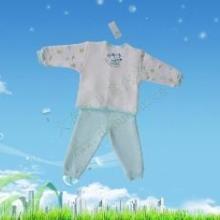 供应加绒童装婴幼儿保暖内衣批发品牌保暖内衣加盟天津市大布豆制衣公批发