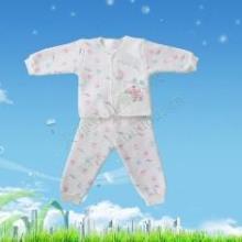 供应优质大布豆批发 大布豆内衣 婴儿全棉内衣套装 卡通春秋长袖内衣