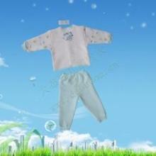 供应大布豆优质童装婴儿服装用品批发 新生儿全棉内衣套装 宝宝内衣