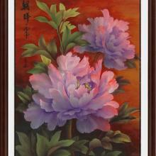 供应洛阳牡丹画