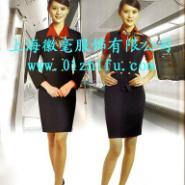 铁路空姐服高铁航空制服航空服图片