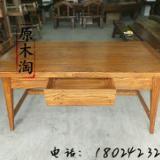 供应榆木仿古风化书桌、学习桌、绘画桌、电脑桌、茶桌、中式家具