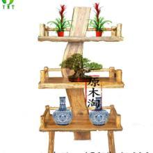 供应樟木架子格架花架置物架创意博古架展示架实木家具图片