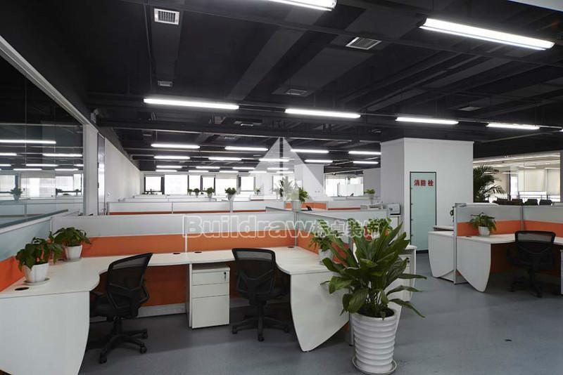 现代办公室装修之办公室装修风水财图片