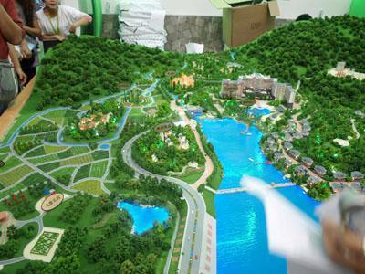 供应湖南模型公司