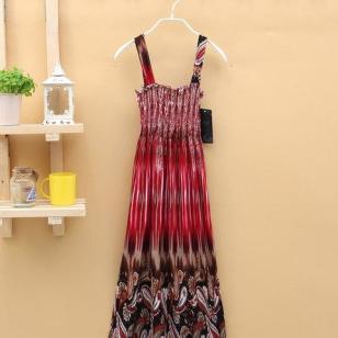 新款女装夏款韩版显瘦连衣裙图片