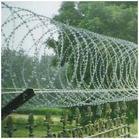 防爬刀片刺绳护栏图片