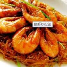 供应怎么做炒粉鲜虾炒粉丝-食为天
