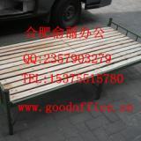 折叠钢架床合肥现货商家 单人实木床