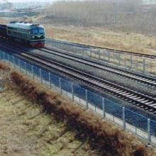 供应水泥立柱防护栏铁路防护栏批发