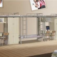 供应三人位连体公寓床/员工宿舍家具,现代时尚卧室家具,金之源特供