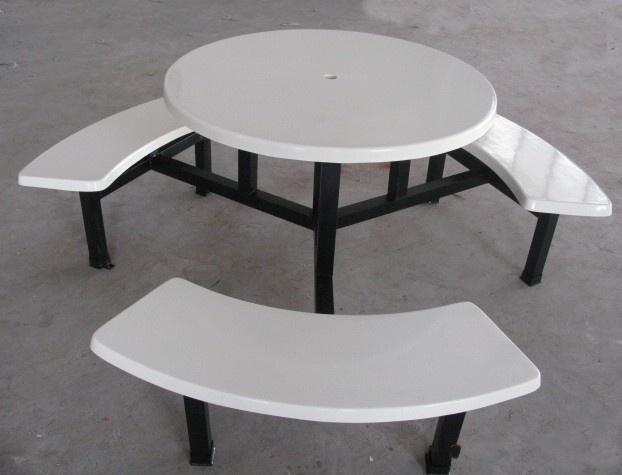 供应10人圆台餐台/食堂餐台/工厂餐台,食堂餐台椅/ 餐厅餐台椅
