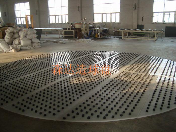 直径6米球盘衬板圆柱体烧结球超高分子聚乙烯内衬