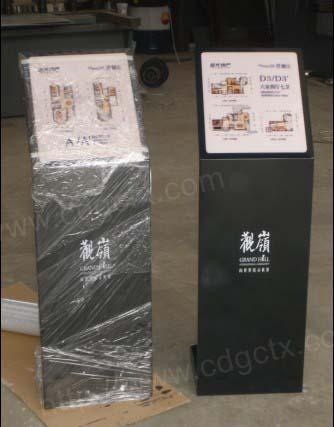 生产供应成都广告灯箱 道路指示牌 标示标牌 导