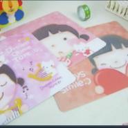 鼠标垫表面彩色图案印刷机图片