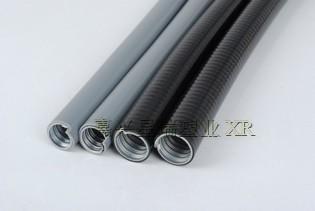 供应平包塑金属软管带棉线金属软管抗压包塑软管
