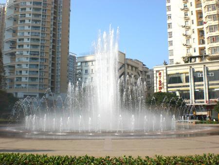 供应温州星河广场水景喷泉图片