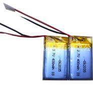 供应602035蓝牙录音笔聚合物锂电池 3.7V400mah超薄电池