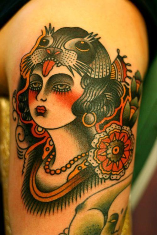 北京专业纹身店图片图片