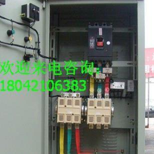 20KW频敏启动柜电机软起动柜图片