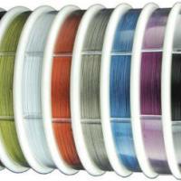 彩色不锈钢线包胶钢线绳威亚