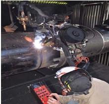供应管道焊接系统