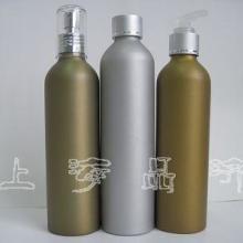 供应小铝瓶磨砂效果喷漆铝瓶