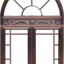 供应铜窗对开铜门玻璃铜门别墅铜门