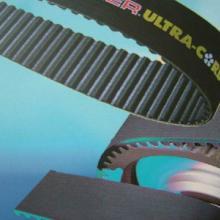 供应天津无缝聚氨酯同步带齿形带L型号钢丝环形皮带批发