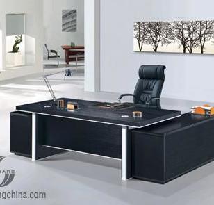 上海思乡板式老板大班桌图片
