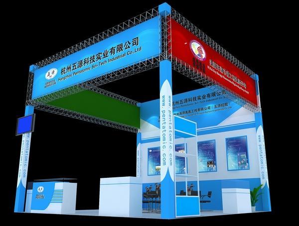供应广州展会展柜桌椅租赁,展柜出租,广州舞台制作与搭建图片