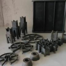 供应新疆塑料试模厂家 新疆塑料试模塑料垫块厂家