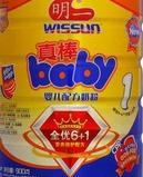 明一真棒baby1段婴儿配方奶粉图片