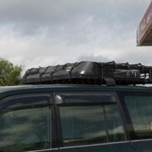 供应越野车车顶行李框/行李架/车顶框 图片
