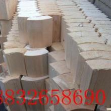 供应新疆伊犁管道支撑保温木块水沥青浸油管道木块优质批发