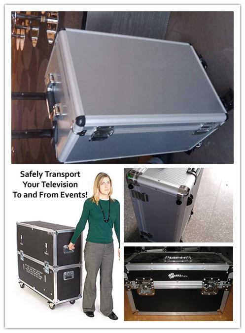 供应防潮抗压承重铝合金组装拉杆箱