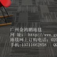 供应办公室写字楼地毯/船舱商务地毯/PVC地毯/大于新德里方块地毯