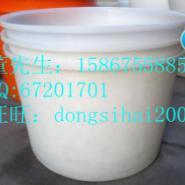 厂家直销200L4000L塑料容器圆桶图片